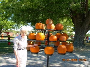 Mom and Pumpkins