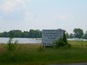 They call it a flood plain
